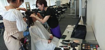 2018ミス・アース・ジャパン愛知大会でヘアメイクを担当いたしました